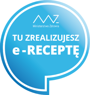 Logo - apteki realizującej e-receptę