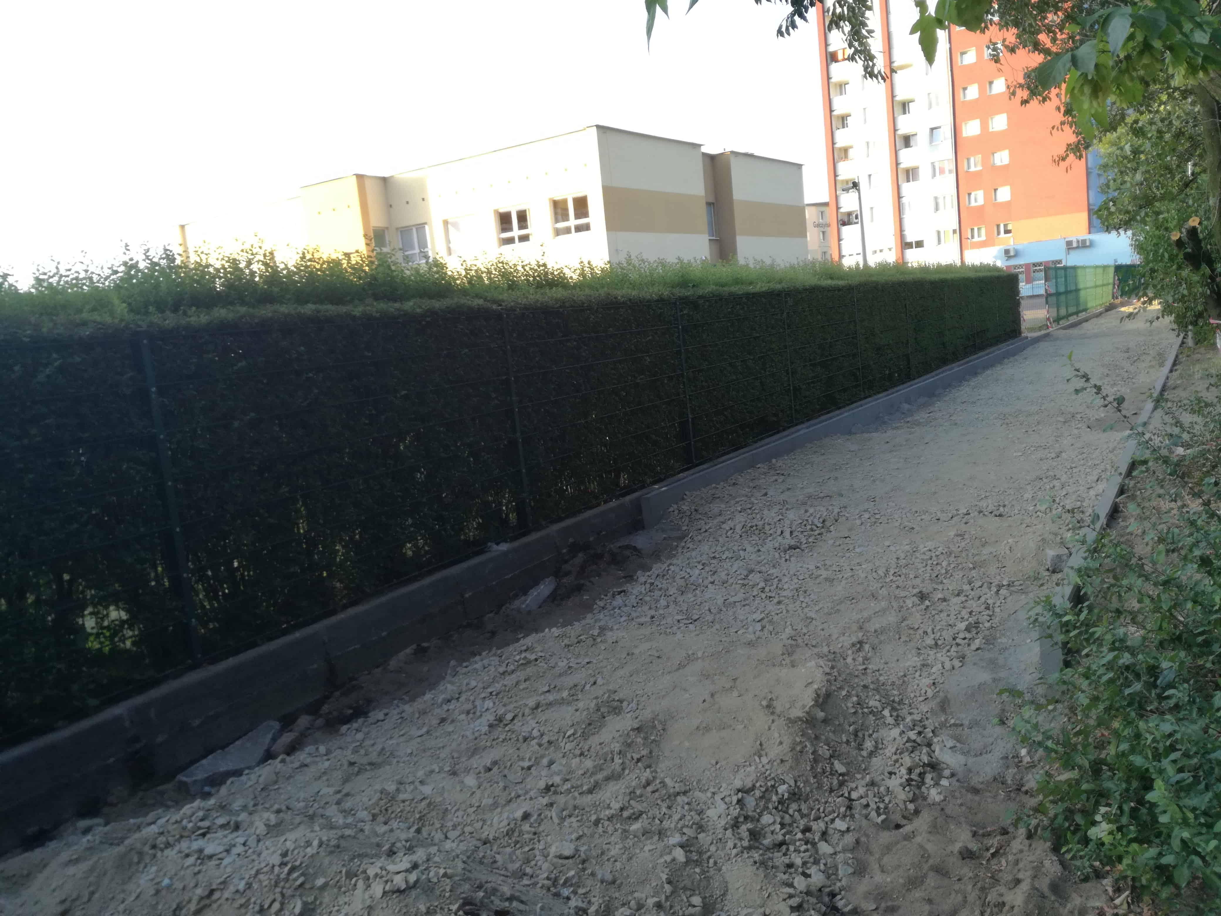 Bydgoski Budżet Obywatelski - remont chodnika wzdłuż ul. Gałczyńskiego do ul. Okrzei