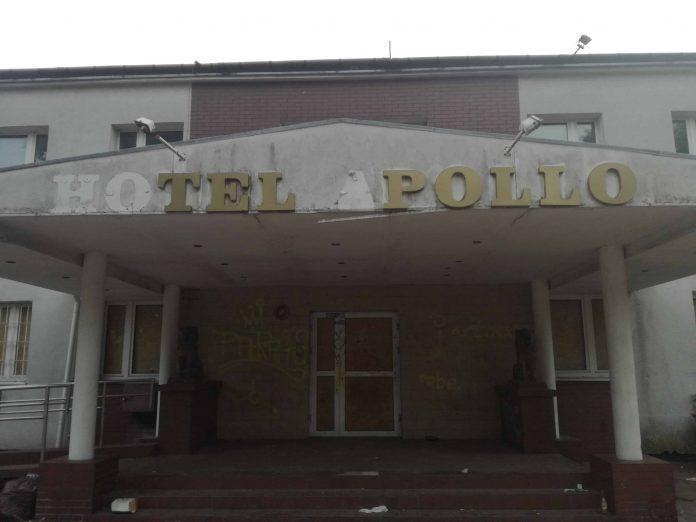 Front Hotelu Apollo w Bydgoszczy.