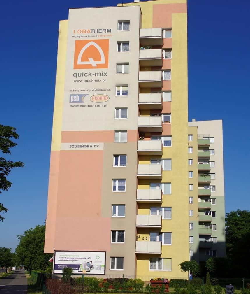 Mural na Błoniu, gdzie powstanie mural na bloku przy Szubińskiej 22